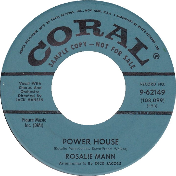 Rosalie Mann Power House Coral Blue DJ